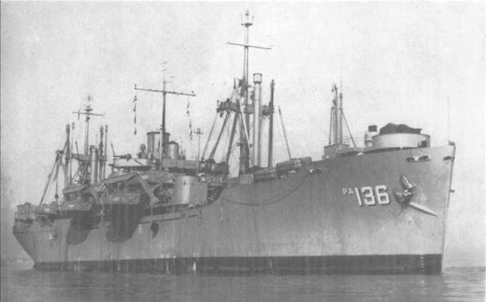 攻撃輸送艦 : 東京湾での降伏文...